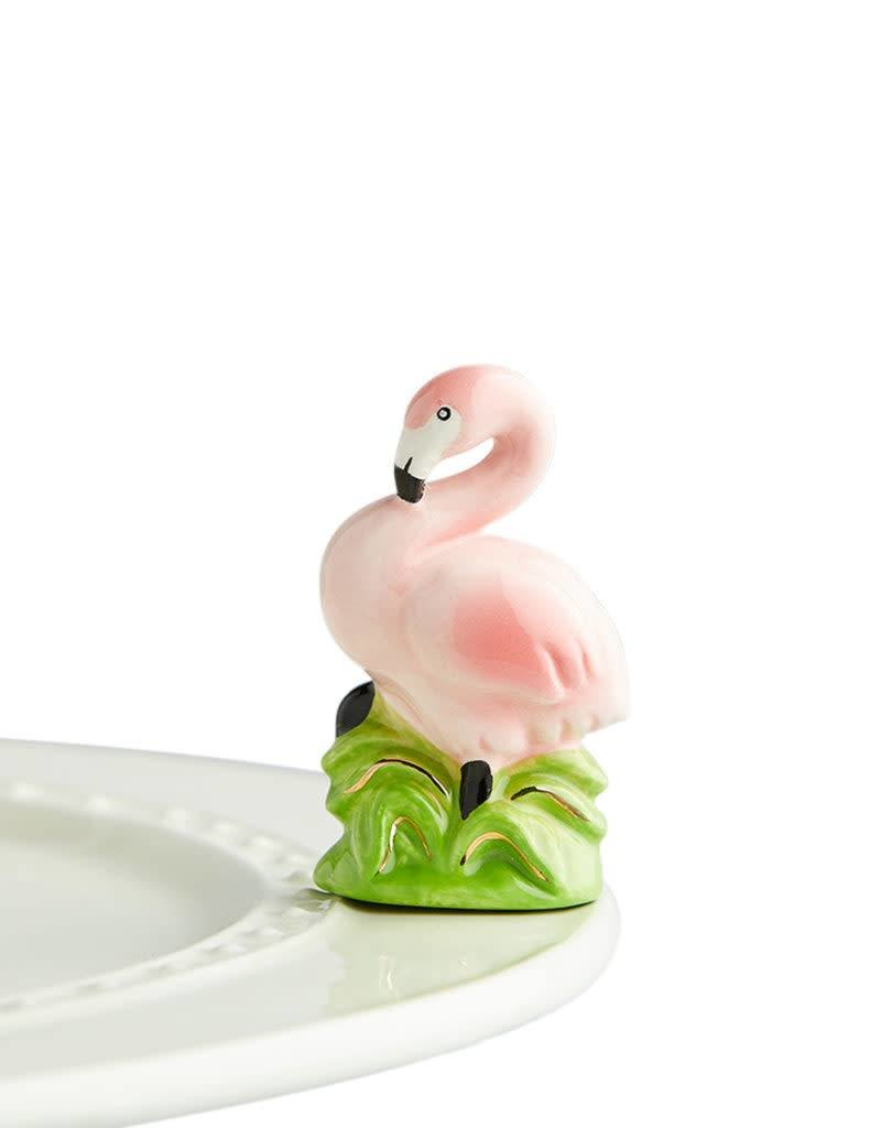 Nora Fleming Topper Flamingo