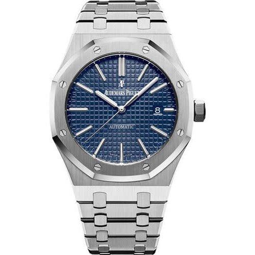 Rolex Audemars Piguet RoyalOak 41 BLUE (2017 B+P)