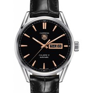 Tag Heuer TAG HEUER Carrera Automatic Black Dial Men's Watch WAR201C (B+P)