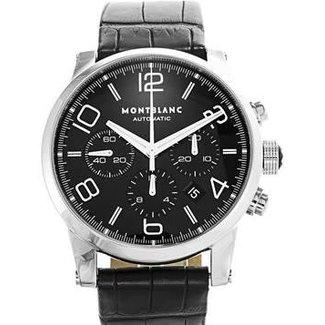Montblanc Montblanc Timewalker Steel Black Dial Date, Automatic 43MM