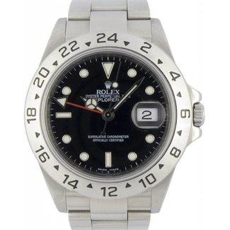 Rolex Rolex : Explorer II : 16570 : Stainless Steel : black dial 3186