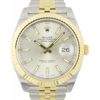 Rolex Rolex 126333 sij Datejust 41 Steel and Yellow Gold - Fluted Bezel - Jubilee