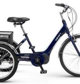 "iZip E3 Go Trike Blue 26"" wheel"