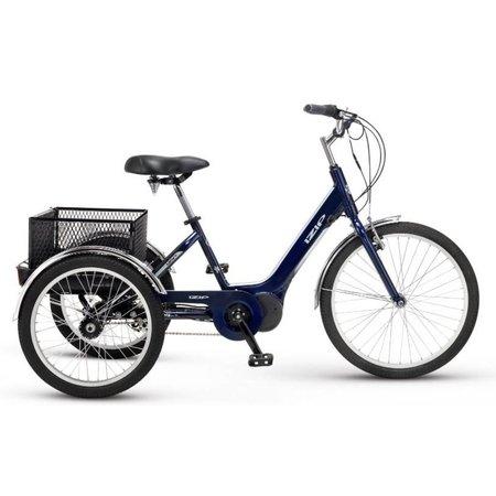 """E3 Go Trike Blue 26"""" wheel"""
