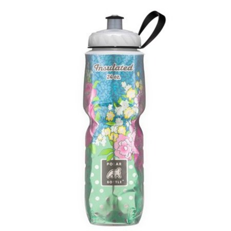 Polar Insulated Water Bottle: 24oz, Secret Garden