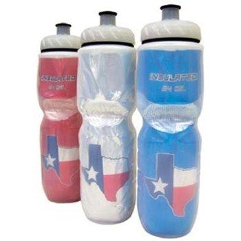 Polar Bottles Insulated Water Bottle: 24oz, Texas Flag Blue
