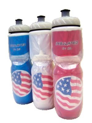 Polar Bottles Insulated Water Bottle: 24oz, Star Spangled