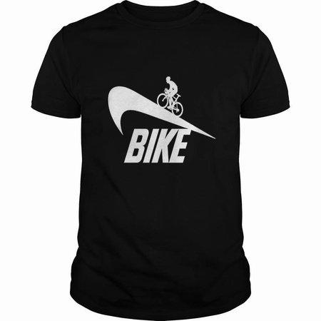 Bike Black Tshirt Clockwork Gears