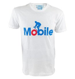 Mobile White Tshirt Clockwork Gears Large