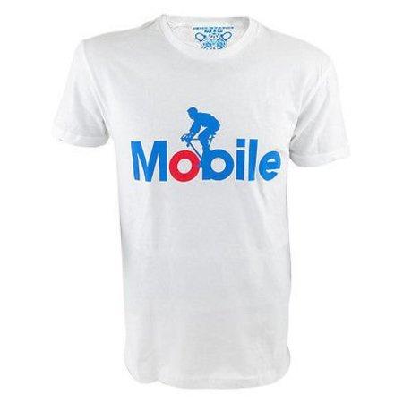 Mobile White Tshirt Clockwork Gears Large