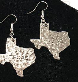 LoneStar Mary Texas earrings stainless