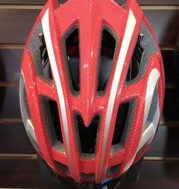 Helmet Red/Silver Robesbon