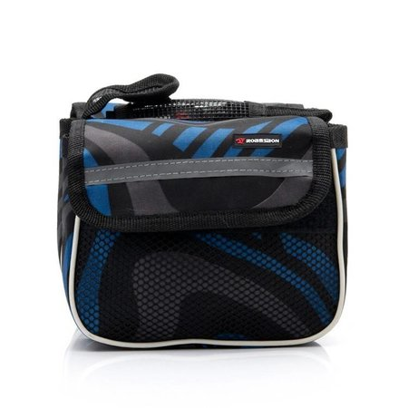 Saddle Bag Blue Tiger Robesbon