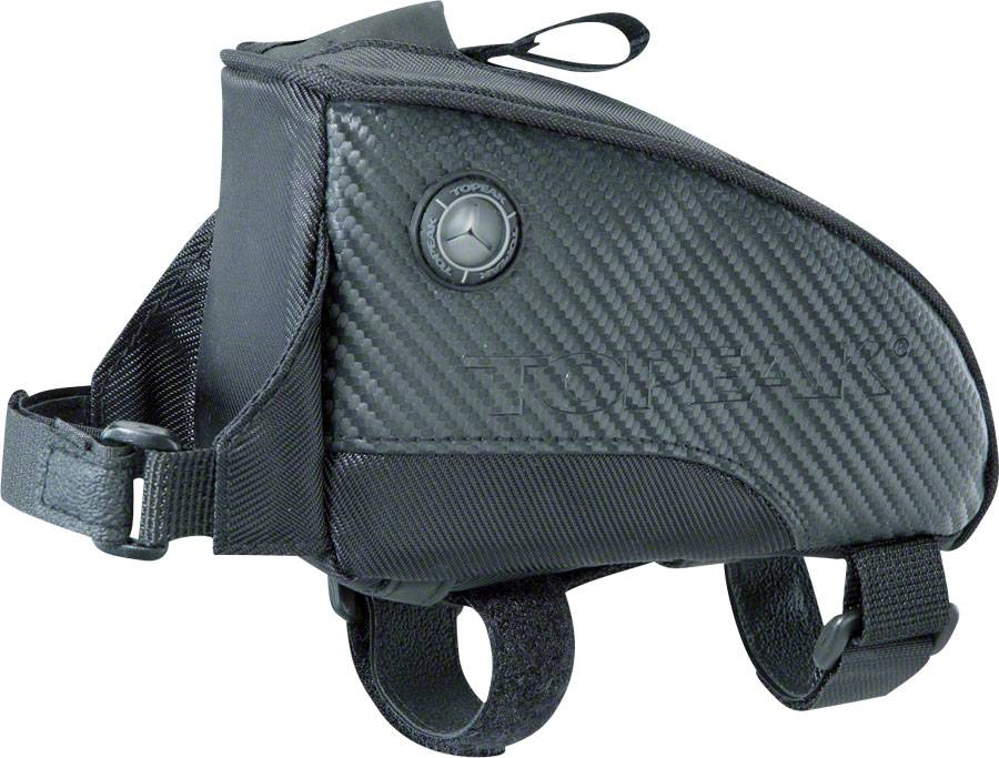 Topeak Fuel Tank Top Tube Bag: Medium Black