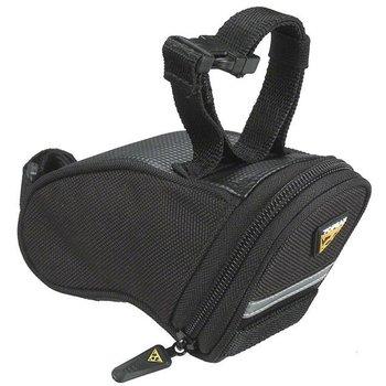 Aero Wedge Seat Bag: Black