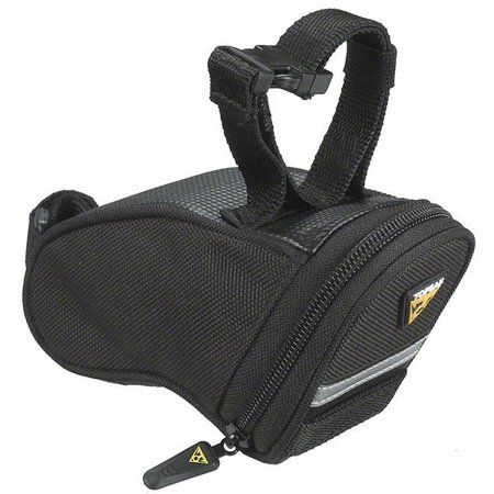 Aero Wedge Seat Bag: Black