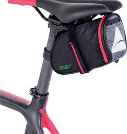 Axiom Axiom Seymour Oceanweave Wedge 0.8 Saddle Bag: Black