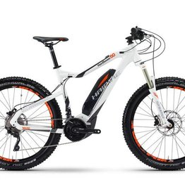 Haibike SDURO HardSeven 6.0 White 2017 plus tires