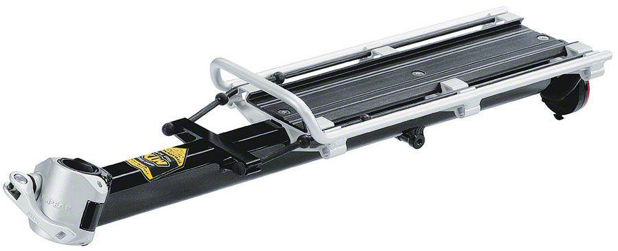 Topeak Beam Seatpost Rack MTX E-Type for Standard Frames: Fits 25.4-31.8mm seatpost