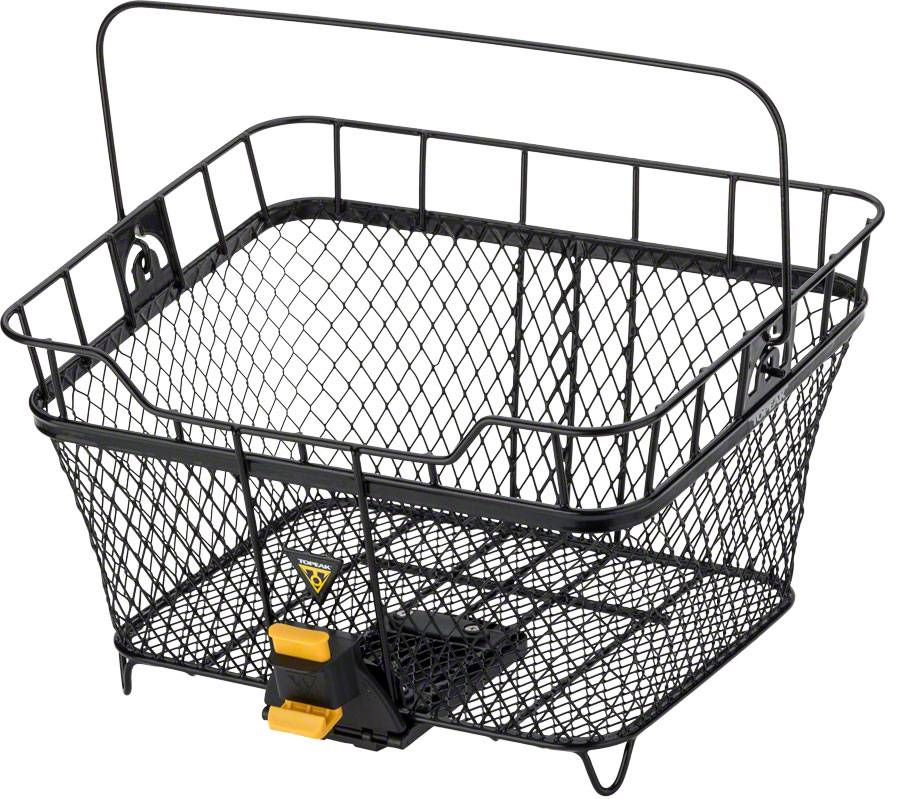 Topeak MTX Rear Basket: Black
