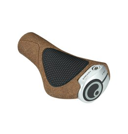 Ergon Ergon GC1 BioKork Grips: Black/Tan