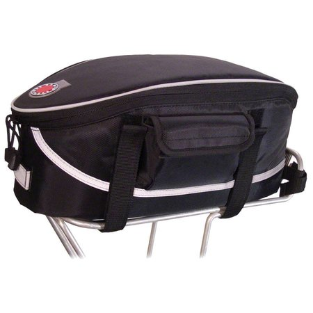 Rack Top Bag: Black
