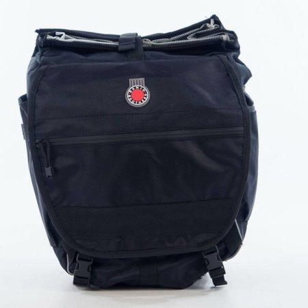 Waterproof Backpack Pannier: Black