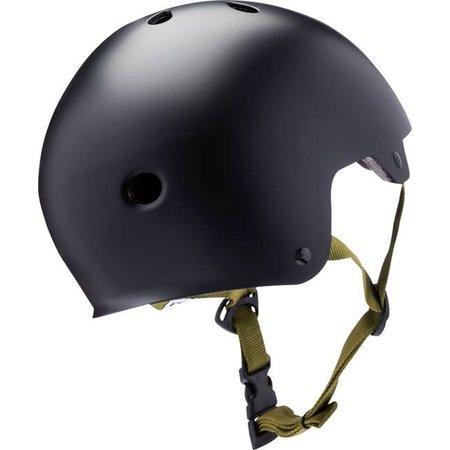 Kali Protectives Maha Helmet: Kali Solid Black LG
