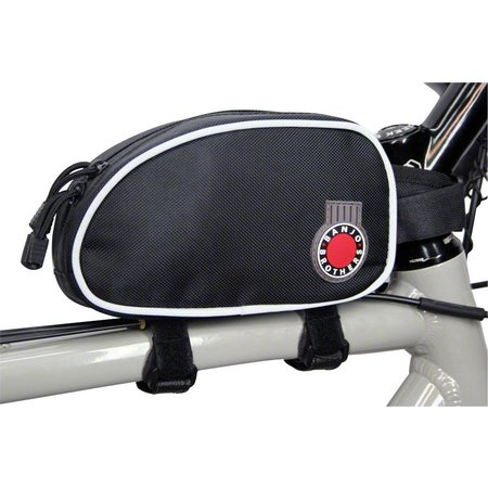 Top Tube Bag: Black, LG
