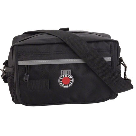 QR Handlebar Bag: Black