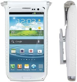 "SmartPhone DryBag: Fits 4-5"" SmartPhones, White"