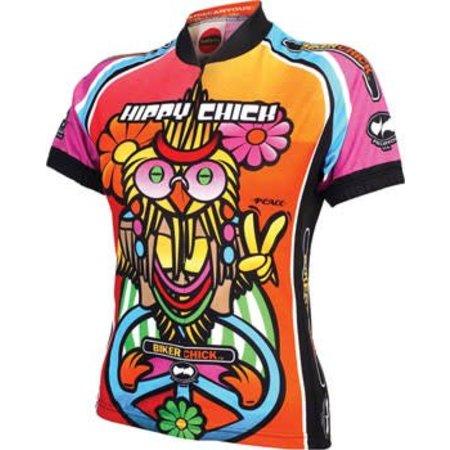 World Jerseys Women's Hippy Chick Cycling Jersey: MD
