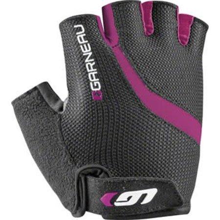 Louis Garneau Biogel RX-V Women's Glove: Black/Fuscia Festival Pink SM
