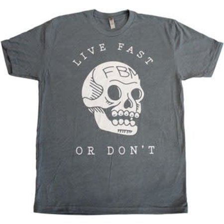 FBM Live Fast T-Shirt: Indigo Heather XL
