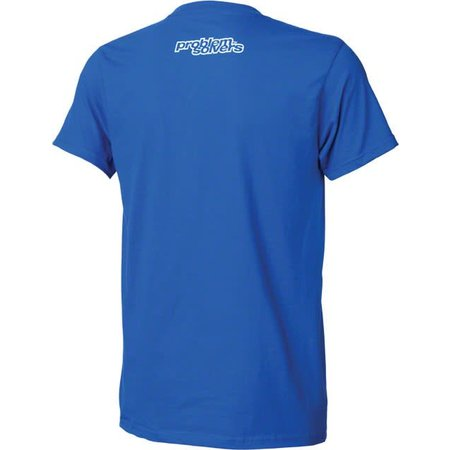 Problem Solvers Women's Square Peg T-Shirt: Blue SM