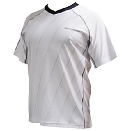 Raleigh Lightweight Jersey Large White w/Grey Stripes 89-37-092
