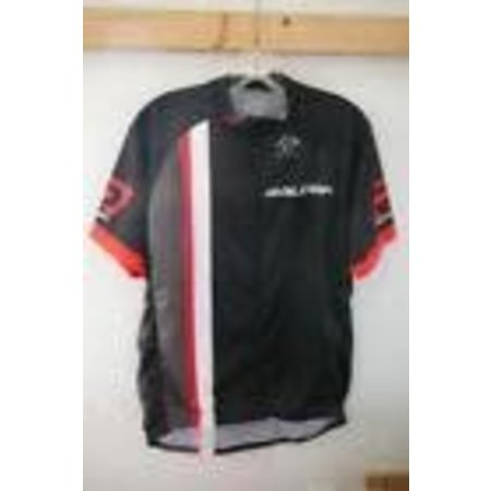 Raleigh Race Jersey X-Large Black/Red/White