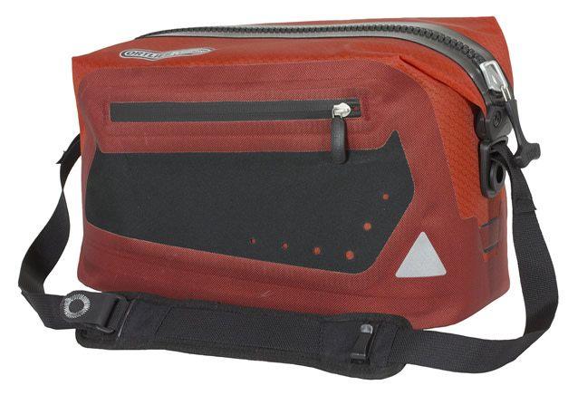Ortlieb Trunk Bag Red/Black (Rack Lock Adapt .6mm)
