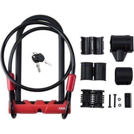 ABUS U-Lock # Ultimate Combopack 420 STD + USH # 9 inch U/ 14mm round diameter + 10mm/140cm cable