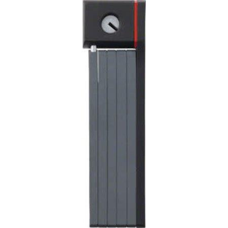 ABUS Keyed Folding Lock uGrip Bordo 5700 (80cm/2.6ft), Black
