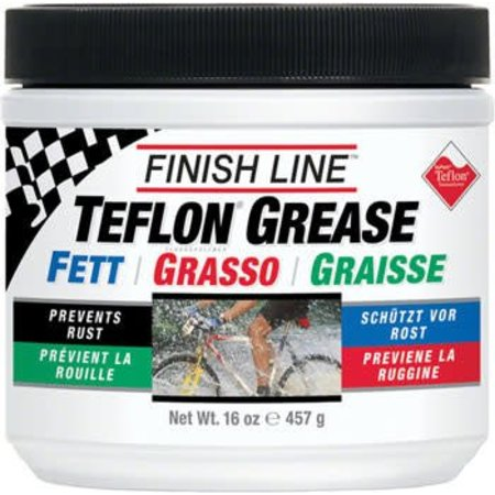 Finish Line Premium Grease with Teflon, 16oz Tub