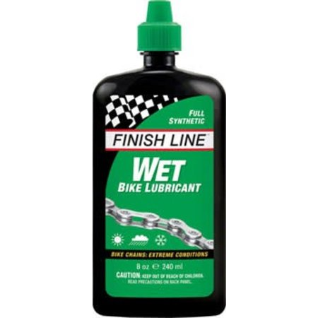 Finish Line WET Lube, 8oz Drip