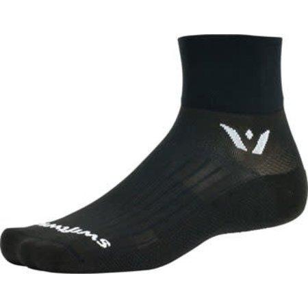 Swiftwick Aspire Two Sock: Black SM