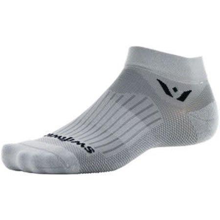 Swiftwick Aspire One Sock: Pewter XL