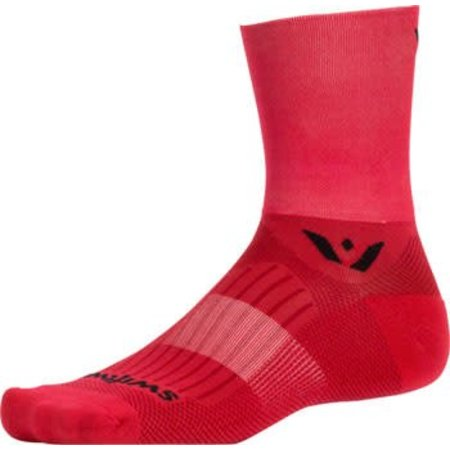 Swiftwick Aspire Four Sock: Red MD