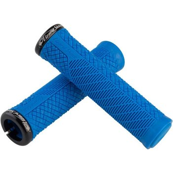 Charger Evo Lock On Grips Electric Blue