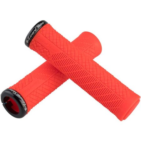 Charger Evo Lock On Grips Fire Red