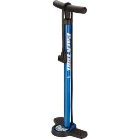 Park Tool PFP-8 Home Mechanic Floor Pump, Blue/Black