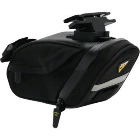 Aero Wedge DX Seat Bag with Mount: Medium, Black