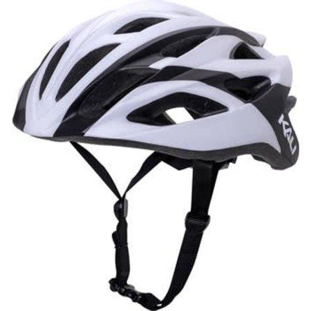 Kali Protectives Ropa Helmet: Charge Matte White/Black MD/LG
